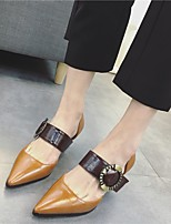 Women's Loafers & Slip-Ons Comfort Patent Leather Casual Low Heel