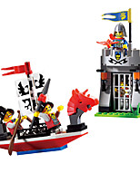 Building Blocks Educational Toy For Gift  Building Blocks Leisure Hobby Ship ABS 5 to 7 Years 8 to 13 Years 14 Years & Up Toys