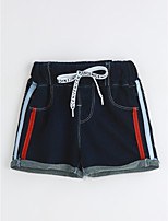 Boys' Casual/Daily Solid Shorts-Cotton Summer
