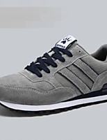 Men's Sneakers Spring Comfort Leather Casual Gray