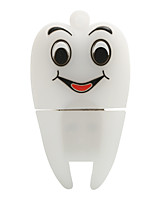 Hot cartoon novo smiley sace dentes usb2.0 128gb flash drive u memory stick disco