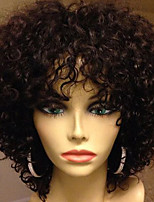 New Fashion Brazilian Virgin Hair Lace Wigs Kinky Curly Lace Front Human Hair Wigs Short Virgin Hair Curly Wig for Woman