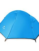 1 personne Tente Double Tente pliable Une pièce Tente de camping Aluminium Garder au chaud Pliable-Camping