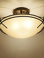 Montage du flux ,  Rustique Plaqué Fonctionnalité for LED Métal Salle de séjour Chambre à coucher Salle à manger Bureau/Bureau de maison
