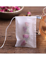 100Pcs/Lot Teabags 5.5 X 7Cm Empty Scented Tea Bags With String Heal Seal Filter Paper For Herb Loose Tea