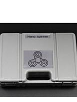 Edc špičky prstů horní taška prst gyro speciální pouzdro mini přenosné kožené tašky