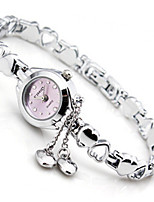 Women's Fashion Watch Chinese Quartz Alloy Band Silver Purple LightBlue Black