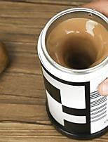 1pcs película en forma de uno mismo que revuelve tazas de café taza de café aislada doble tazas de café eléctricas automáticas de 400 ml