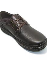 Мужской спортивные туфли весна комфорт pigskin кожа casual цветной кофе черный