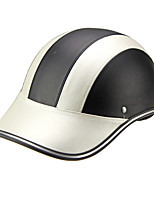 Motor Helmet Baseball Cap Style Safety Hard Hat Anti-UV  silver Black