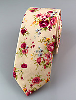 Men's Casual Cotton Tie (6CM)