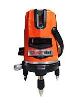 Deke® 2 linha 650nm laser infravermelho marcação instrumento nivelamento linha laser