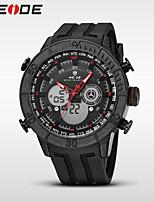 WEIDE Masculino Relógio Esportivo Relógio de Moda Relógio de Pulso Relogio digital Quartzo DigitalCalendário Impermeável Dois Fusos