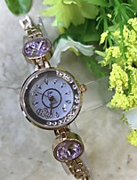 Women's Elegant Gold Bracelet Quartz Watch