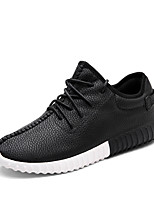 Man Walking PU Leather Surface Shoes for Men's Shoes for Training Casual Shoes Fashion Sneakers Sport Shoes Black/White/Red EU Size 39-44