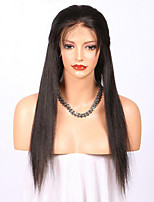 Premierwigs Natural Straight Human Hair Lace Wigs Celebrity Wigs 100% Real Hair Brazilian Virgin Human Hair Glueless Lace Front Wigs With Baby Hair