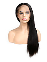 T-Top Hair Full Lace Wigs Natural Hairline Straight Lace Front Wigs With Baby Hair Human Hair Wigs For Black Women