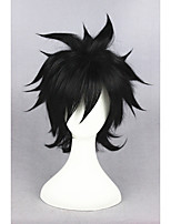 Fairy Tail-Gray Fullbuster Black 14inch Anime Cosplay Wigs CS-156A