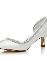 Damen-Hochzeit Schuhe-Hochzeit Outddor Büro Kleid Party & Festivität-Seide-Niedriger Absatz-Komfort einfärbbar Schuhe-