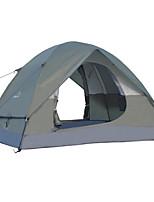 3-4 personnes Tente Double Tente pliable Une pièce Tente de camping 2000-3000 mm Fibre de verre OxfordRésistant à l'humidité Etanche