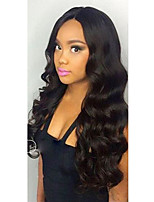 New Body Wave 360 Lace Frontal Wig with Baby Hair 250% Density Brazilian 360 Lace Wigs for African Americans Natural Hairline 360 Wig No Shedding