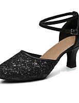Customizable Women's Dance Shoes Synthetic Dance Sneakers Heels Customized Heel Indoor