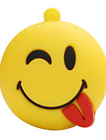 Hot New Cartoon Sauvage smiley face usb2.0 64gb flash drive u mémoire de disque