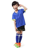 Kinder Fußball Trainingsanzug Atmungsaktiv Komfortabel Sommer Sport Terylen Fussball Weiß Orange Grün Blau