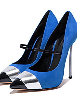 Women's Heels Spring Fall Club Shoes Comfort Novelty Sheepskin Wedding Outdoor Party & Evening Dress Casual Stiletto Heel Buckle Walking