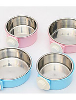 Dog Feeders Pet Bowls & Feeding Blue Blushing Pink