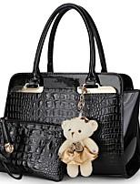 2 шт набор известных брендов женщин сумка бренда 2017 моды женщин посыльного сумки сумки PU кожа женские сумки