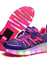 -Девочки-Для прогулок Повседневный Для занятий спортом-Полиуретан-На низком каблуке-Светящийся обуви Обувь с подсветкой-Спортивная обувь