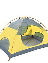 2 persons Tent Single Fold Tent One Room Camping Tent 2000-3000 mm Nylon OxfordMoistureproof/Moisture Permeability Waterproof Rain-Proof