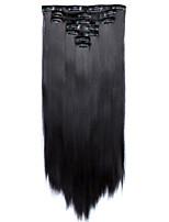 A Clipser Synthétique Extensions de cheveux Extension des cheveux