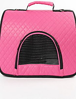 Cat Dog Carrier & Travel Backpack Pet Carrier Portable Breathable Solid Blushing Pink Red Brown Fuchsia Purple