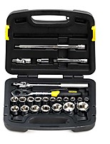 STANLEY® 91-939-22 24PC 12.5mm Wrench kit Professional Homeowner's Tool Kit with Tool Box