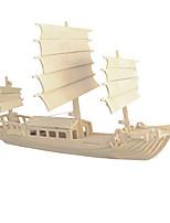 Puzzles Puzzles 3D Blocs de Construction Jouets DIY  Bateau Bois Maquette & Jeu de Construction