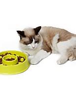 Cat Dog Bowls & Water Bottles Feeders Pet Bowls & Feeding Waterproof Portable Blushing Pink Blue Green Heart