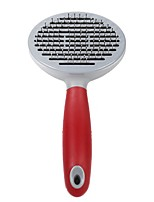 Cat Dog Grooming Health Care Grooming Kits Comb Waterproof Portable Red