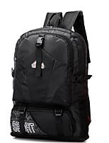 Men Sports & Leisure Bag Oxford Cloth All Seasons Sports Climbing Outdoor Professioanl Use Camping & Hiking Duffel Ruffles ZipperGreen
