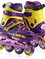 Women's Men's Unisex Inline Skates Wearable Wearproof Comfortable White/Black/Purple