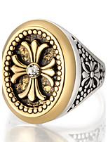 Statementringe Ring Einzigartiges Design Vintage individualisiert Euramerican Luxus-Schmuck Schmuck mit Aussage Modisch AleaciónRunde