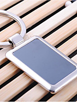 Aluminium Alloy Keychain Favors Piece/Set Personalized Silver