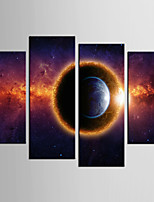 Giclee Print Abstract Style Classic,Four Panels Canvas Any Shape Print Wall Decor For Home Decoration