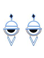 Boucles d'oreille goutte Bijoux Acrylique Géométrique Mode Personnalisé euroaméricains Acrylique Forme Géométrique Bijoux PourMariage
