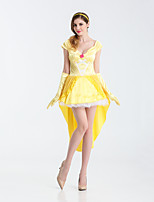 Sexy Beauty and the Beast Belle Princess Costume Adult Women Fantasia Cosplay Dress  Evening Dress Halloween Costumes For Women