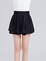 Women's High Rise Above Knee Skirts,Sexy Cute A Line Layered Solid