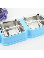 Dog Feeders Pet Bowls & Feeding Blushing Pink Blue