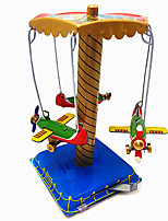Wind-up Toy Aircraft Metal Children's