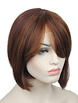 Fashion Lace Front synthetic hair Wig short straight bob costume wigs for women